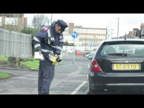 Check out RYAN TRICKS cheeky parking ticket trick!
