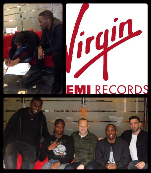 Krept and Konan sign