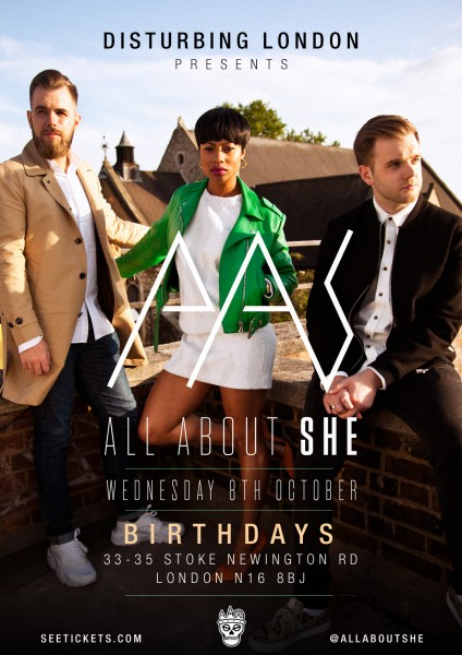 All About She Flyer (A)