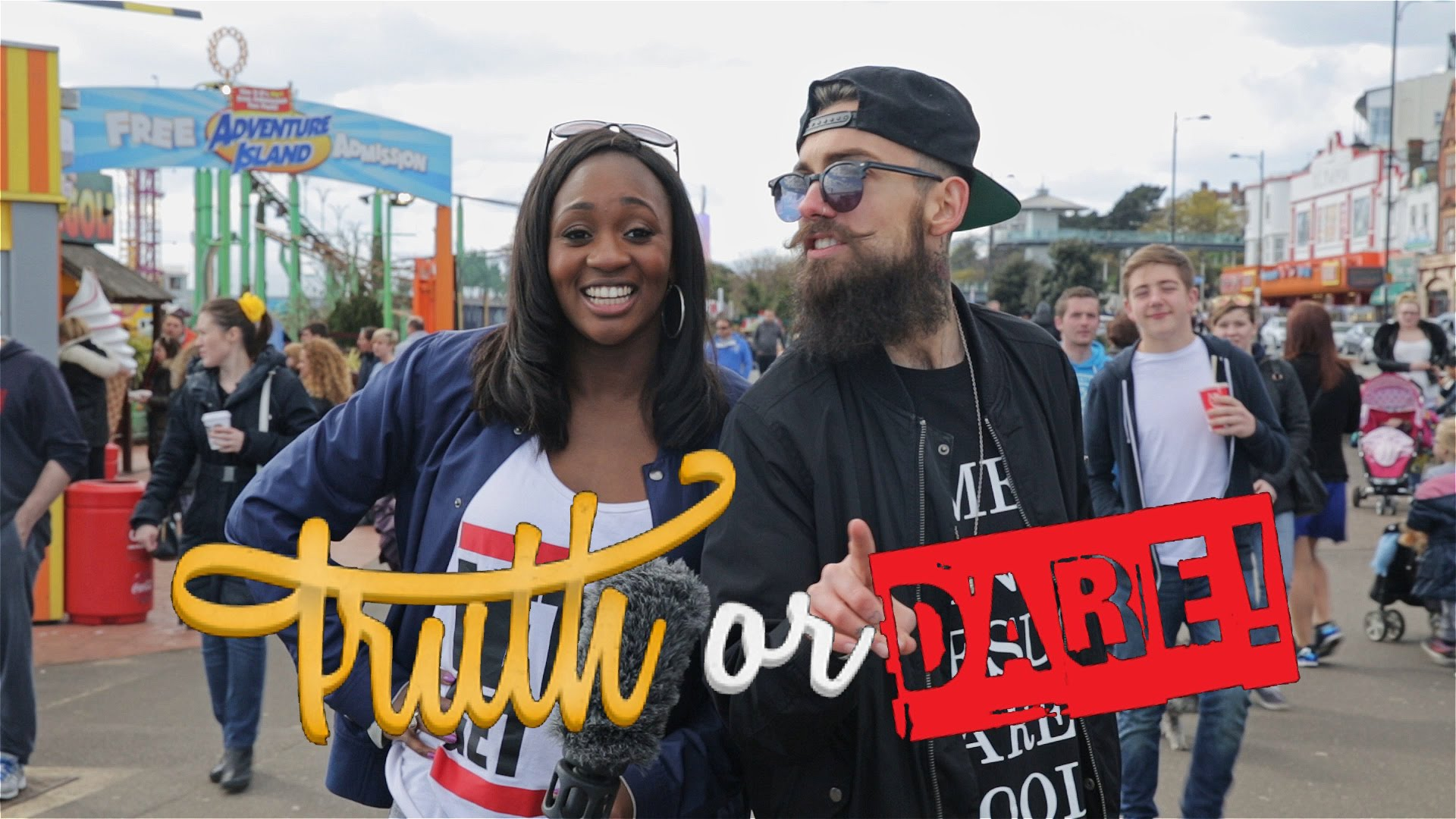 Watch the brand new series of Truth Or Dare TV with Remel London and Dean Quinton