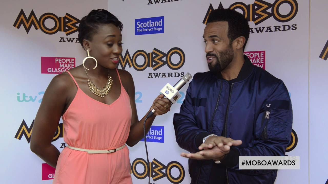 Craig David talks about his bromance with Big Narstie and MOBO awards highlights