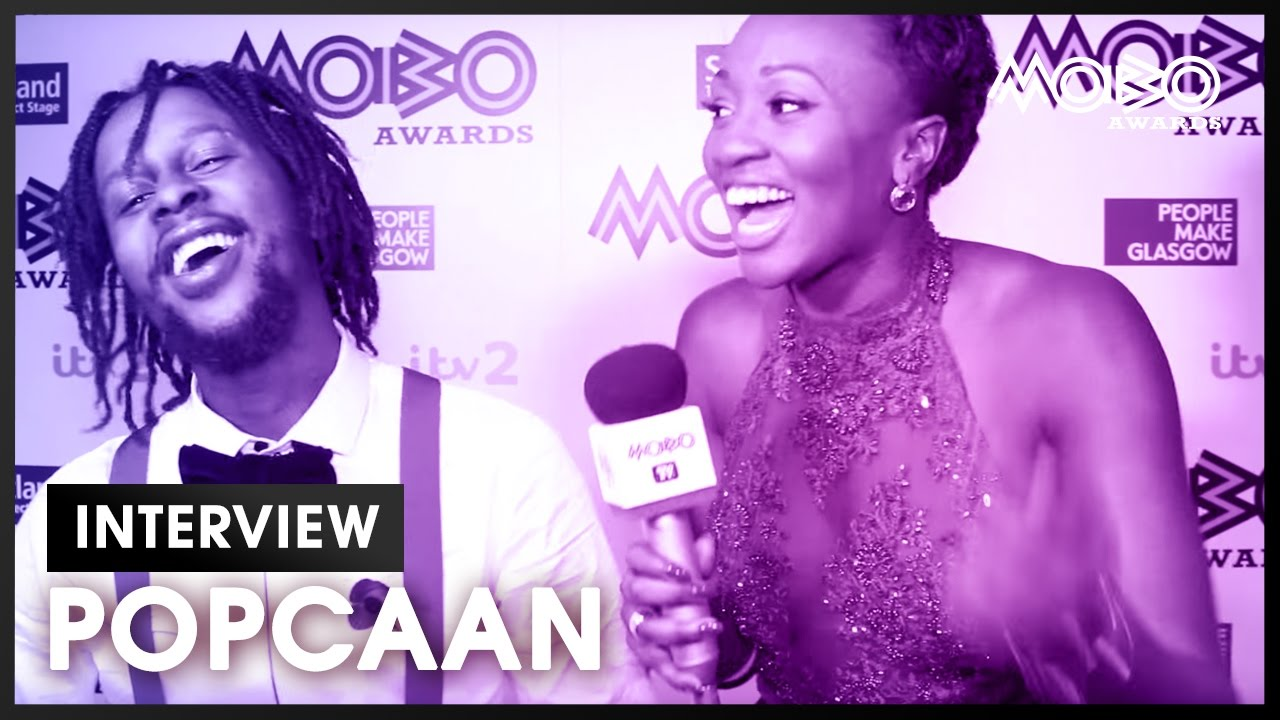 The sounds of celebration with Popcaan at the MOBO Awards 2016