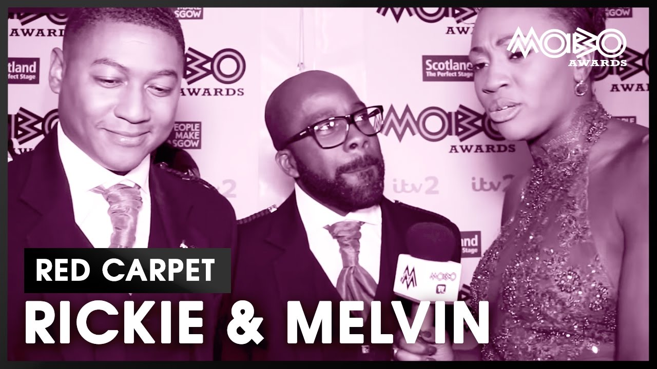 What was under those Kilts? Rickie & Melvin at the MOBO Awards 2016