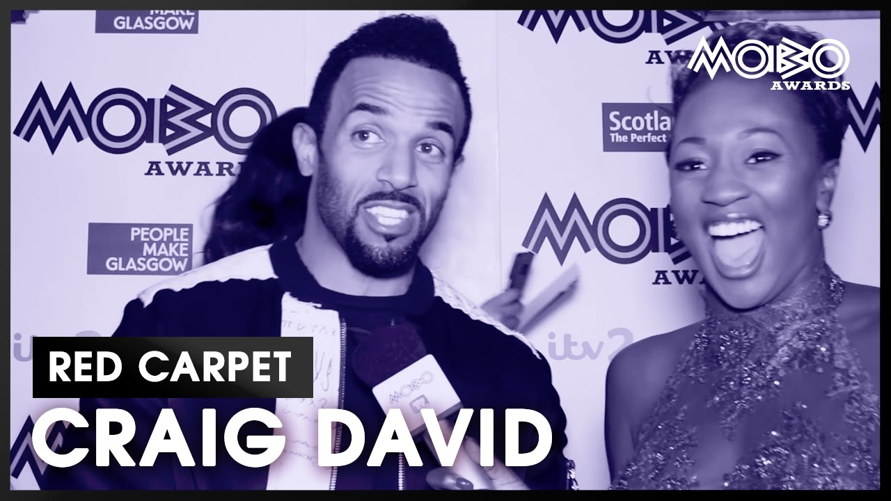 Craig David meets some super fans on the MOBO Awards 2016