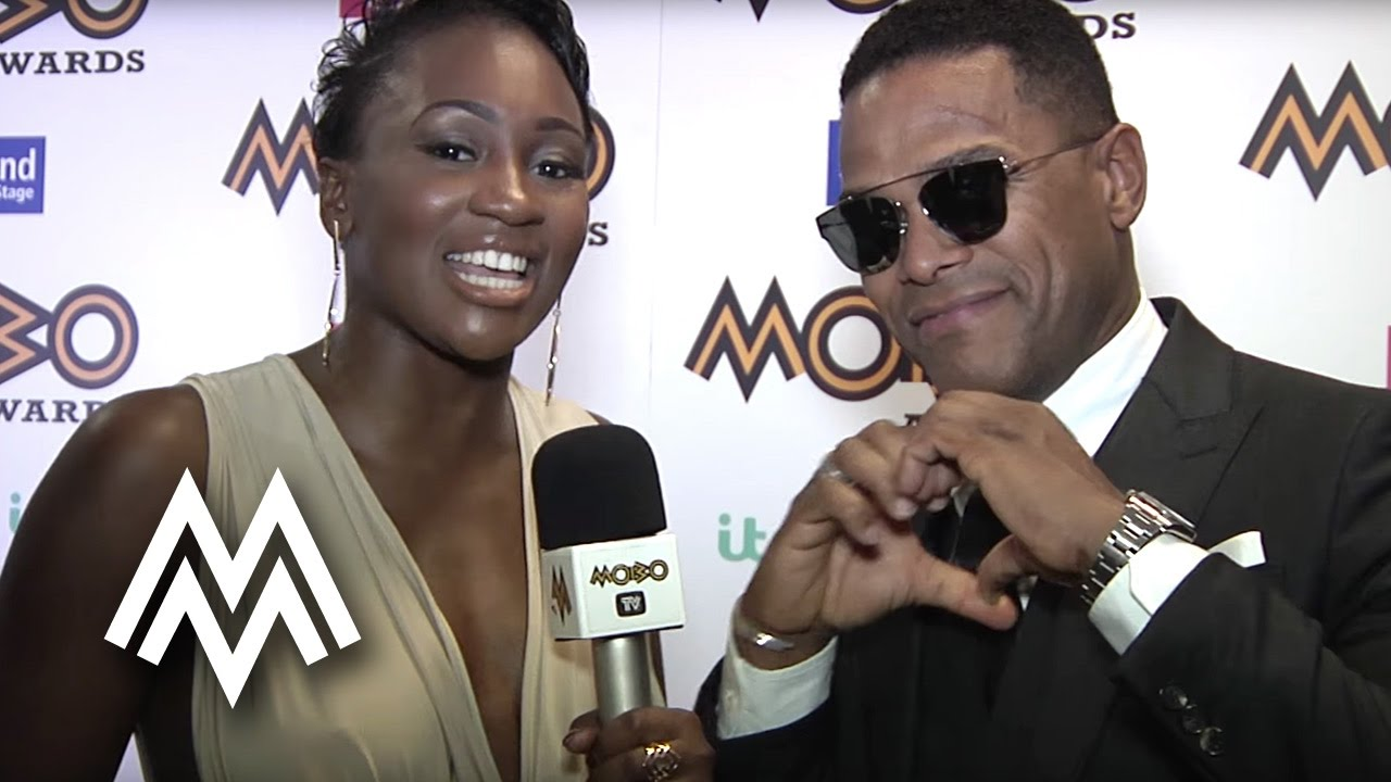 Maxwell talks UK Soul and RnB at the MOBO pre Awards 2016